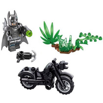 Batman Kit C/ Moto Minifigures Lego Compativel Batmoto Ak04