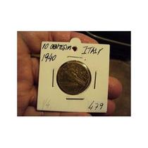 Moneda Italia 10 Centesimi 1940 R (479)