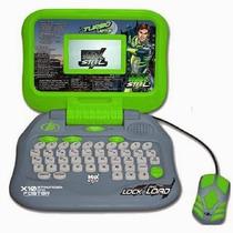 Turbo Laptop Maxsteel 60 Actividades Bilingüe - Tuni Mx-030