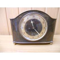 Reloj Despertador Junghans Antiguo - Caja Roble Perfecta.