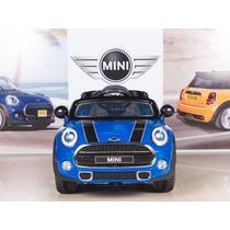 Carrito Electrico Montable Mini Cooper 2017 Azul