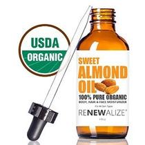 Orgánica Aceite De Almendras Dulces Por Renewalize En Large