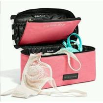 Victorias Secret Neceser Porta Lenceria Bra Less Panties New