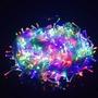 Luces De Navidad Led Multicolor 100 Para Arbolito Decorar