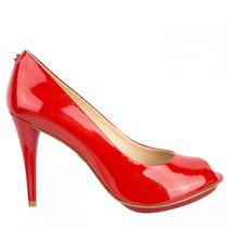 Sapato Feminino Peep Toe Jorge Bischoff J300270