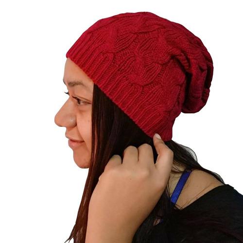 Touca Gorro Lã Vermelha Feminino Boina Confortavel Inverno - R  39 ... 71ff091f2ce