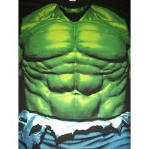 Playeras Avengers Vengadores Hulk Pecho Talla G