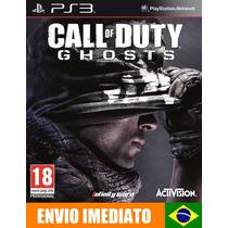 Call Of Duty Ghosts Ps3 Código Psn Português Promoção