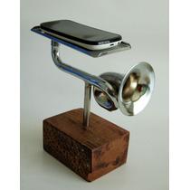 Amplificador De Som Para Celular Acústico Pequeno Decorativo
