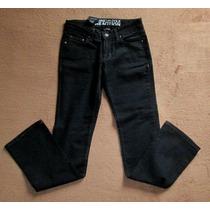 Jeans O Pantalón De Mezclilla Negro Xs Kenneth Cole Reaction