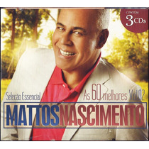 Cd Mattos Nascimento - As 60 Melhores - Vol 2 [cd-triplo]