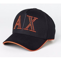 Gorra Armani Exchange Negra 100% Original