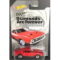 Hot Wheels James Bond 007 71 Mustang Mach 1 Escala 1/64