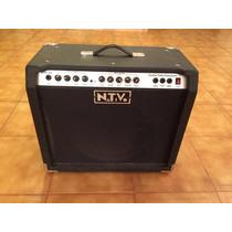 Amplificador Para Guitarra Nativo De 65