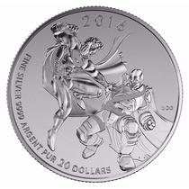 Moneda De Plata De 20 Dolares Canadienses Batman V Superman