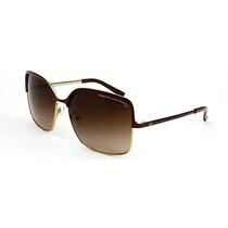 Gafas Armani Exchange Mujeres Oro / Brown Sunglasses 59mm