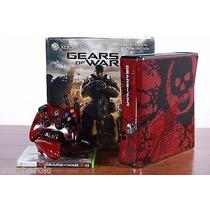 Xbox 360 Gears Of War 250gb Frete Gratis+4 Jogos Original Bl