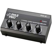 Amplificador Para 4 Audifonos Estereo Pyle-pro Pha40