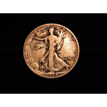 Moneda 1/2 Dolar Liberty 1934 Eeuu 12,5 Plata 900 Half Medio