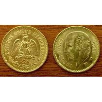 Cinco Pesos Oro Familia Centenario Moneda Goldmex Inversion