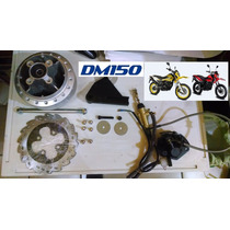 Italika Dm150 Conversion Kit Freno De Disco Trasero