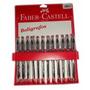 Boligrafos Faber Castell 061 Medium X 24 Unids Rojo