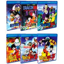 Coleccion 6 Peliculas Dragon Ball Blu-ray Español Latino