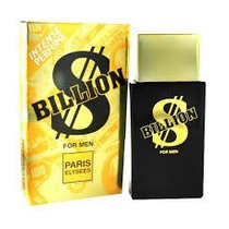 Perfume Billion Masculino 100ml Paris Elysees Nina Presentes