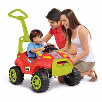 Carro Passeio Infantil Bebe Pedal Smart Vermelho Bandeirante