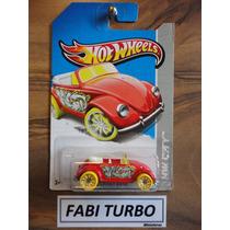 Hot Wheels - Volkswagen Beetle Fusca Conversível