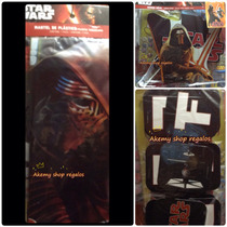 Aa Star Wars Paquete Mantel Letrero Y Movil Promocion