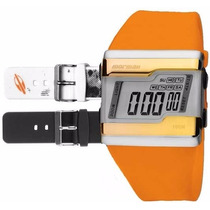 Relógio Mormaii Digital Kit Troca Pulseira Fza/8l