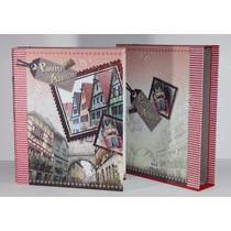 Álbum Fotográfico 5x7 (13x18cm) Para 200 Fotos (país)