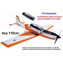 Tucano T-27 Afa Kit Para Montar Aeromodelo - Kit Kemp Aeros