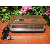 Radio Despertador General Electric Am-fm Vintage