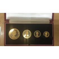 Set Islas Malvinas Pound Oro 1974