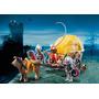 Playmobil 6005 Caballeros Halcón Con Carreta Medieval