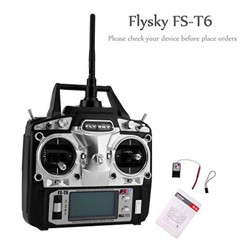 Rcmall Flysky Fst6 Alta Precisión 24g 6 Canales 6ch Radio C - $ 200.000 en Mercado Libre