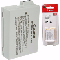 Bateria Canon Lp-e8 Original Lp E8 T4i T5i Kiss X4 X5