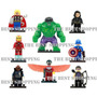 Figura 8 Super Heroes Marvel Avengers Falcon Compatible Lego
