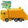 Caminhão De Lixo Amarelo - 0811 ( Siku )