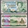 Falkland Islands 10 Libras Año 1986 Sin Circular
