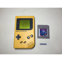 Console Game Boy Classic Amarelo Banana Jim Com Tetris