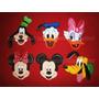 Mickey Minnie Disney Foami Apliques Distintivos O Para Iman