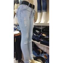 Calça Jeans Cintura Alta Direto Da Fábrica, Goiânia Av. 44.