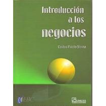 Introducción A Los Negocios. Carlos Prieto Sierra. Ed. Limus