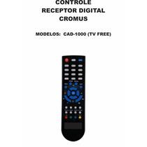 Controle Remoto Conversor Digital Cromus Cad-1000 Tv Free