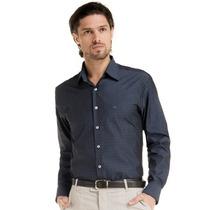 Camisa Social Masculina Maquinetada Fio Egípcio Edward