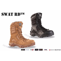 Botas Tácticas Swat Mod. Rd Negra, Kaki Envio Gratis