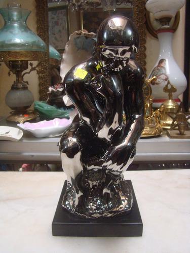 Escultura Decorativa Del Pensador Us 6500 En Mercado Libre - Escultura-decorativa